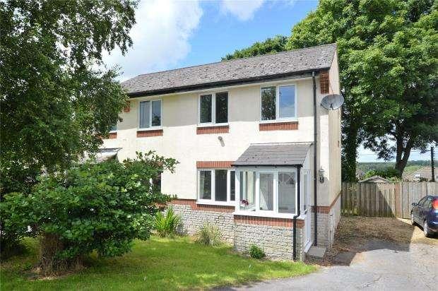 3 Bedrooms Semi Detached House for sale in Craon Gardens, Okehampton, Devon