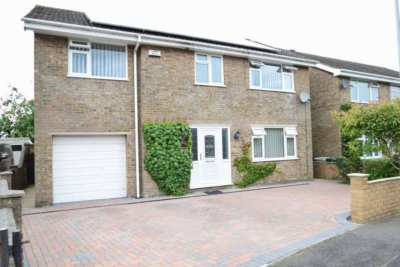 4 Bedrooms Detached House for sale in Chestnut Drive, Louth