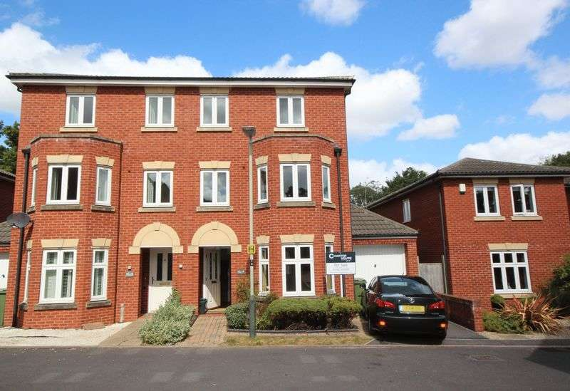 3 Bedrooms Semi Detached House for sale in Sir Charles Irving Close, Cheltenham