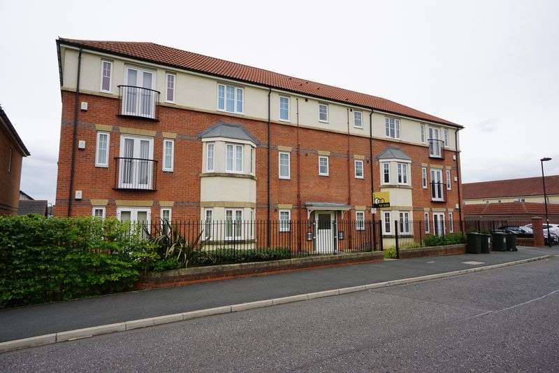 2 Bedrooms Flat for sale in MONARCH COURT, Longbenton
