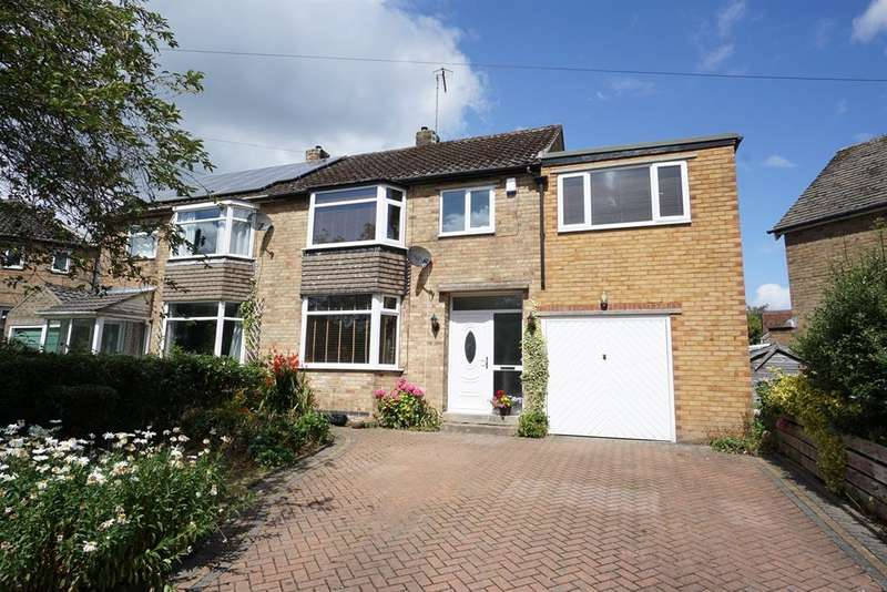 4 Bedrooms Semi Detached House for sale in Wollaton Drive, Bradway, Sheffield, S17 4LB