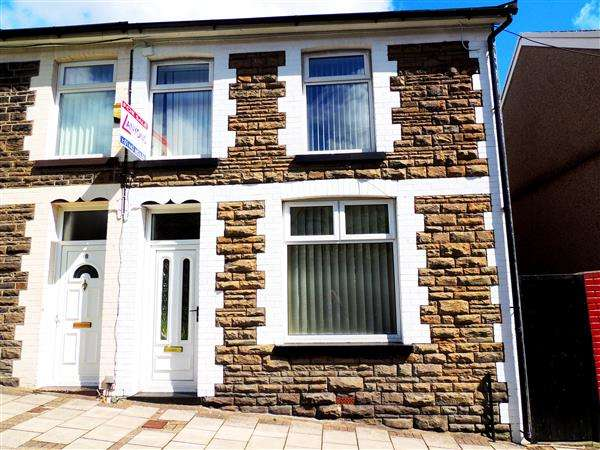 2 Bedrooms Terraced House for sale in Packers Road, Porth, Porth