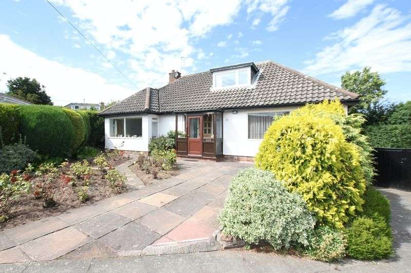 3 Bedrooms Detached Bungalow for sale in Larksway, Heswalll, Wirral