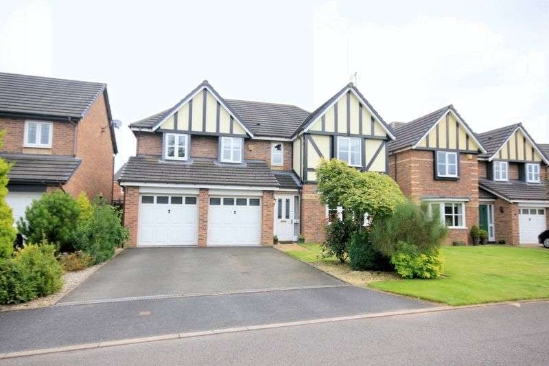 5 Bedrooms Detached House for sale in Rendel Grove, Stone