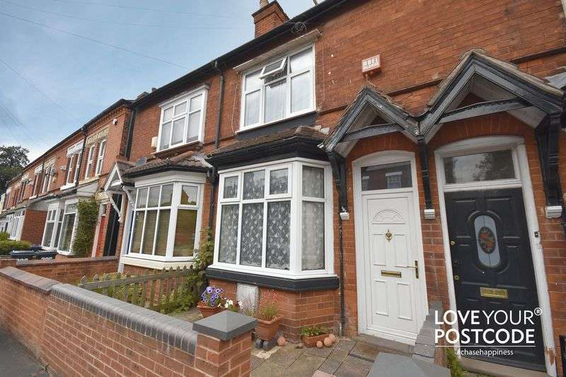 3 Bedrooms Terraced House for sale in Station Road, Kings Heath, Birmingham, B14 7TF