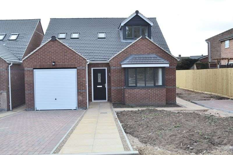 3 Bedrooms Detached Bungalow for sale in Dawn Fields, Off Valley Road, Swadlincote
