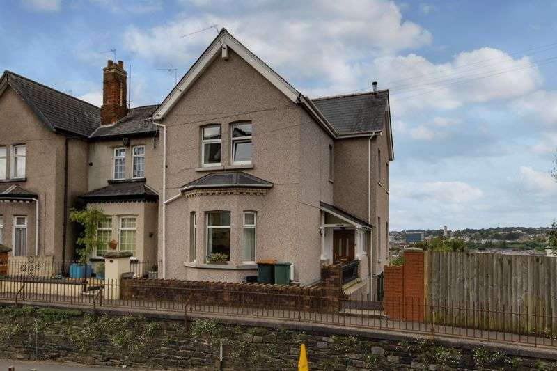 3 Bedrooms Semi Detached House for sale in Morden Road, Newport