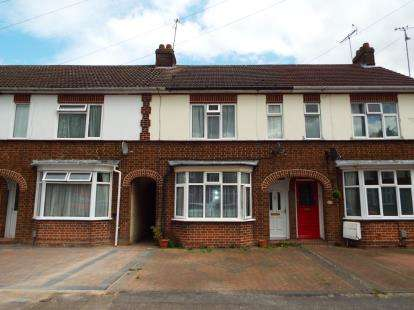 3 Bedrooms Terraced House for sale in Douglas Crescent, Houghton Regis, Dunstable, Bedfordshire