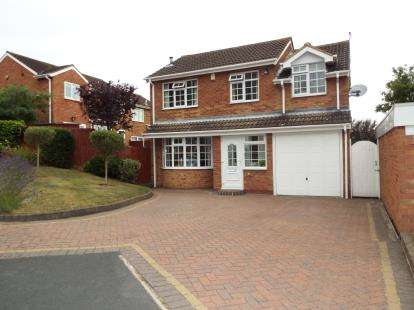 4 Bedrooms Detached House for sale in Hadrian Drive, Coleshill, Birmingham, Warwickshire