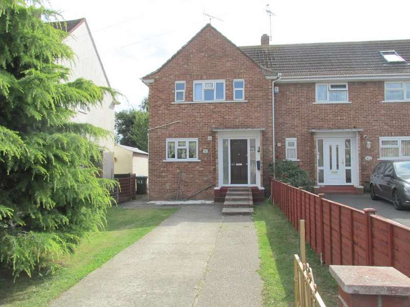 2 Bedrooms End Of Terrace House for sale in Orchard Way, Bognor Regis, West Sussex, PO22 9JY