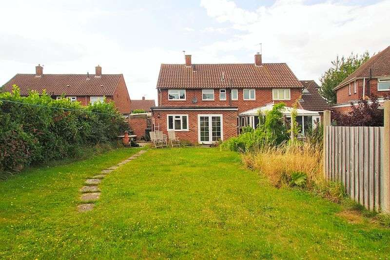 3 Bedrooms Semi Detached House for sale in Sherborne Road, Chichester PO19