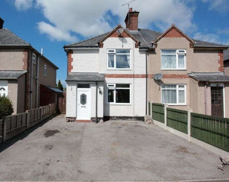 3 Bedrooms Semi Detached House for sale in Denbigh