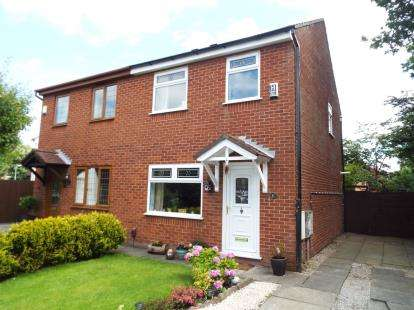 3 Bedrooms Semi Detached House for sale in Lostock View, Lostock Hall, Preston, Lancashire