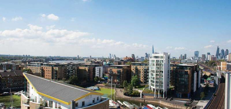 1 Bedroom Flat for sale in Ropemakers Wharf, Limehouse, E14