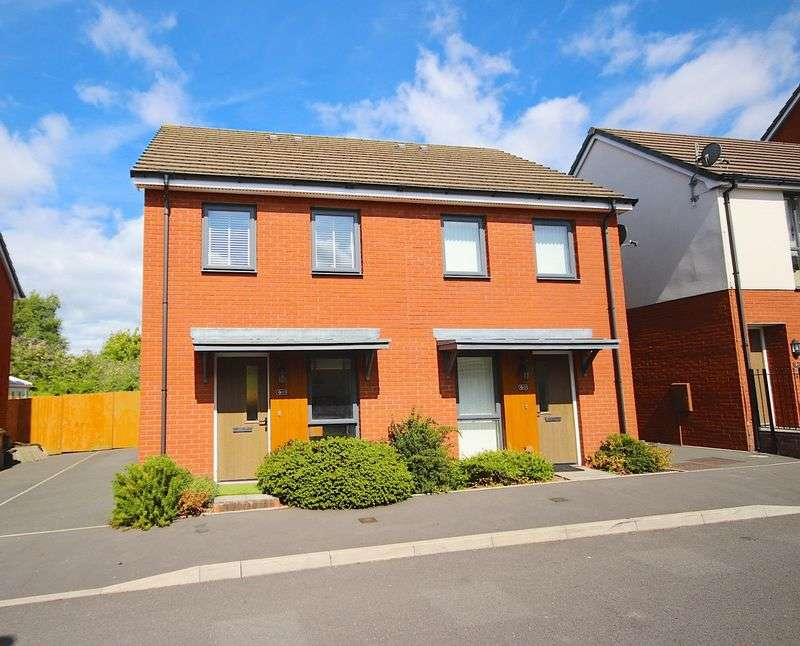 2 Bedrooms Semi Detached House for sale in Bartley Wilson Way, Ninian Park, Cardiff