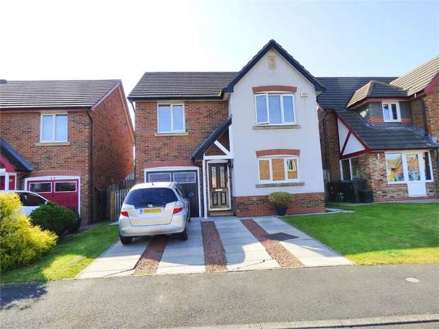 4 Bedrooms Detached House for sale in Barrington Meadows, Bishop Auckland, Durham