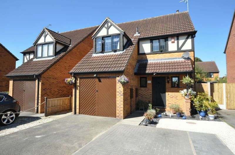 3 Bedrooms Detached House for sale in Eaton Close, Hatton