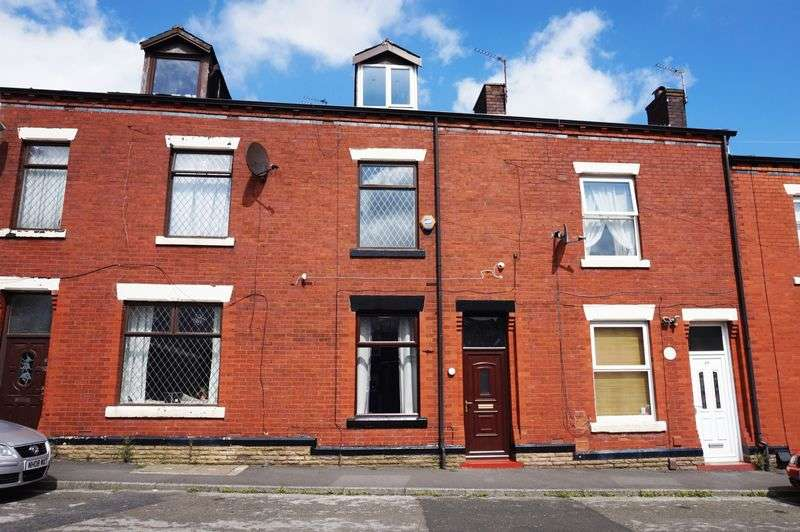 3 Bedrooms Terraced House for sale in Cartridge Street, Heywood