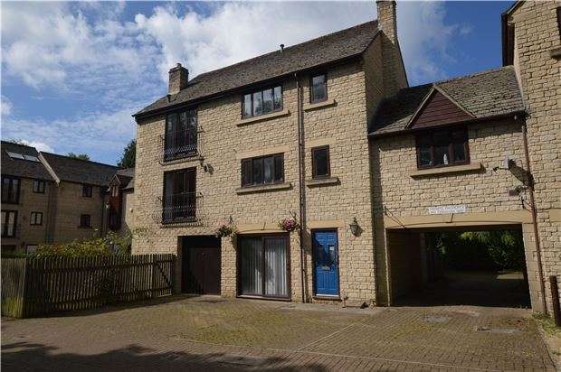 4 Bedrooms Town House for sale in Bowbridge Lock, Stroud, Gloucestershire, GL5 2JZ
