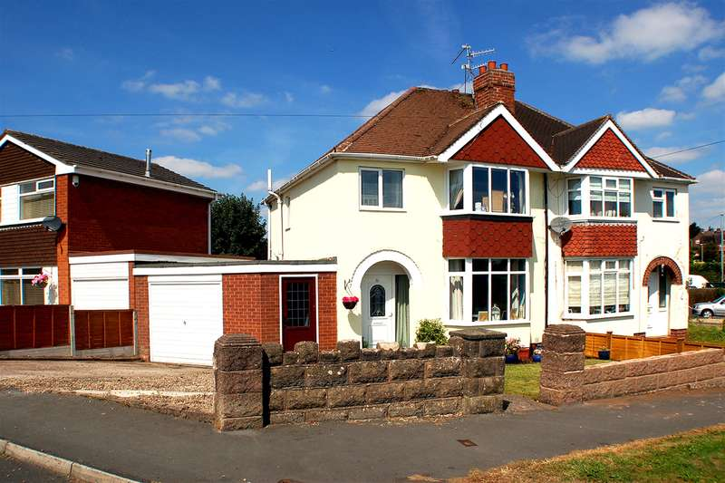 3 Bedrooms Semi Detached House for sale in Gerald Road, Wollaston, Stourbridge, DY8 4SA