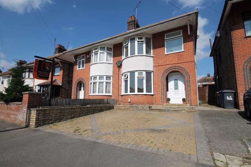 4 Bedrooms Semi Detached House for sale in Ashcroft Road, Ipswich