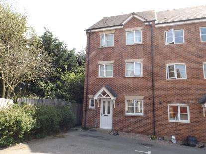 5 Bedrooms Town House for sale in Dunster Close, Rugby, Warwickshire