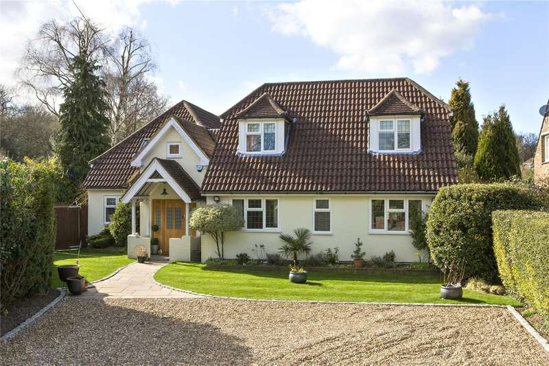 5 Bedrooms Detached House for sale in Brox Road, Ottershaw, Surrey, KT16