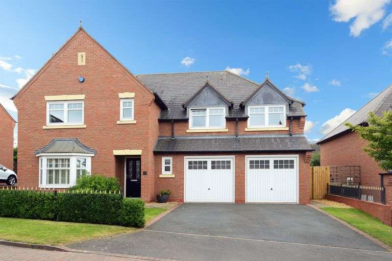 5 Bedrooms Detached House for sale in Admaston, Telford, Shropshire.