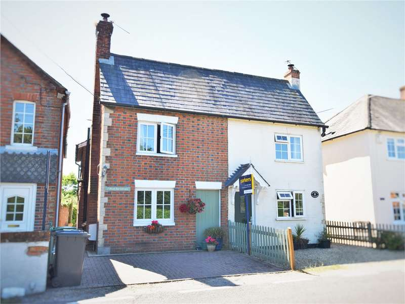 2 Bedrooms Semi Detached House for sale in Birchtree Cottages, Kings Road, Silchester, Reading, RG7