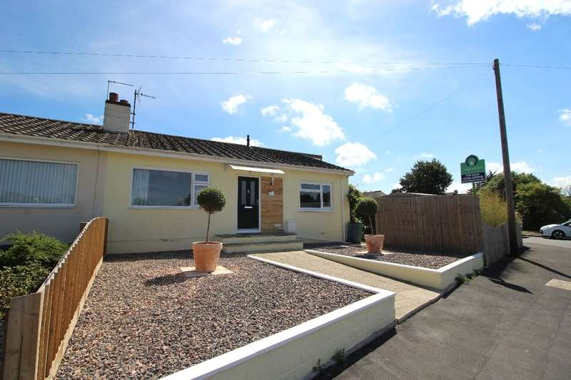 3 Bedrooms Semi Detached Bungalow for sale in Tarrs Avenue, Kingsteignton, Newton Abbot, TQ12