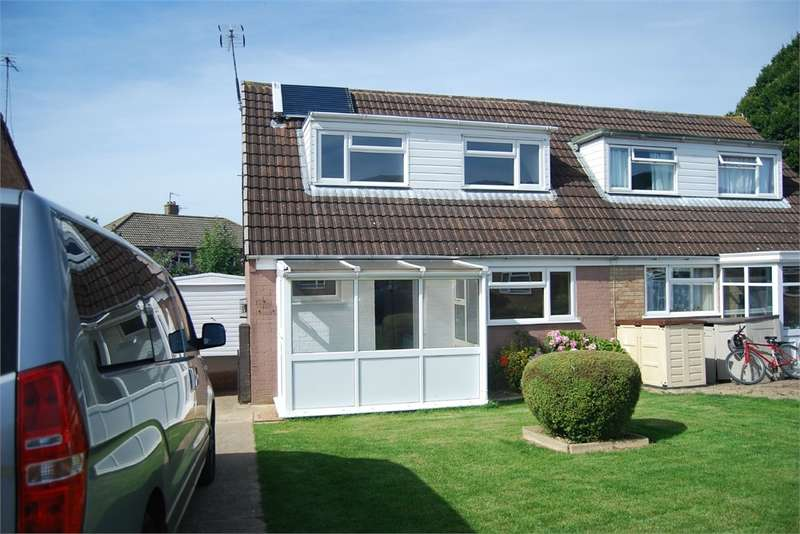 2 Bedrooms Semi Detached House for sale in 44 Dozule Close, Leonard Stanley, Gloucestershire