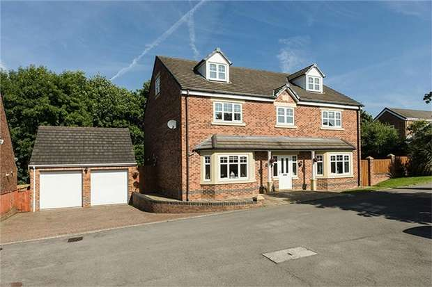 6 Bedrooms Detached House for sale in Causey Way, Kip Hill, Stanley, Durham