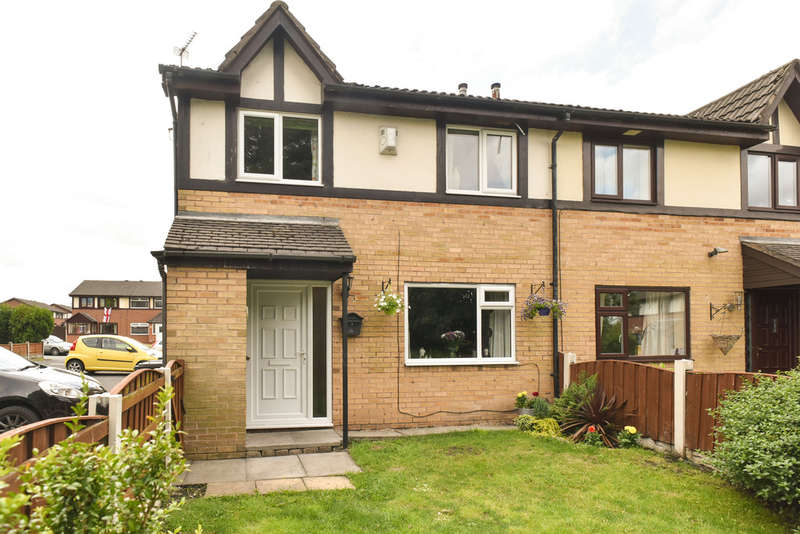 2 Bedrooms Semi Detached House for sale in Anthorn Road, Goose Green, Wigan, WN3