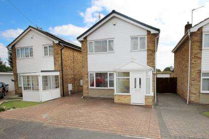 3 Bedrooms Detached House for sale in Hawfield Close, Hexthorpe, Doncaster