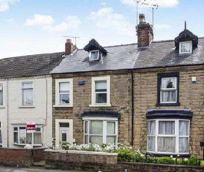 3 Bedrooms Terraced House for sale in Woodhouse Road, Mansfield, Nottinghamshire