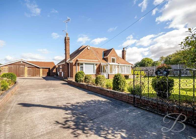 4 Bedrooms Detached Bungalow for sale in Bungalow Lane, Bilsthorpe