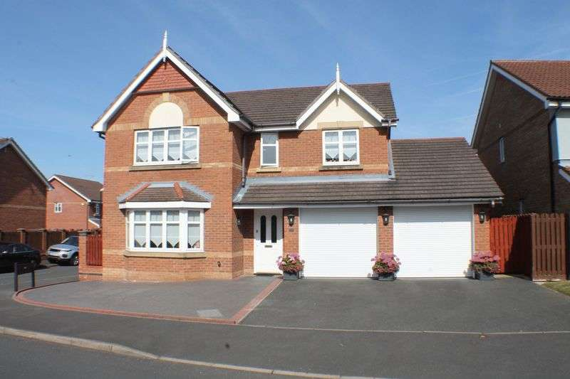 4 Bedrooms Detached House for sale in Hogarth Drive, Noctorum