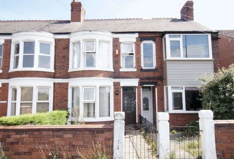 4 Bedrooms Terraced House for sale in New Road, Wrexham