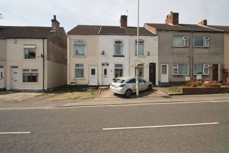 2 Bedrooms Terraced House for sale in Central Road, Hugglescote