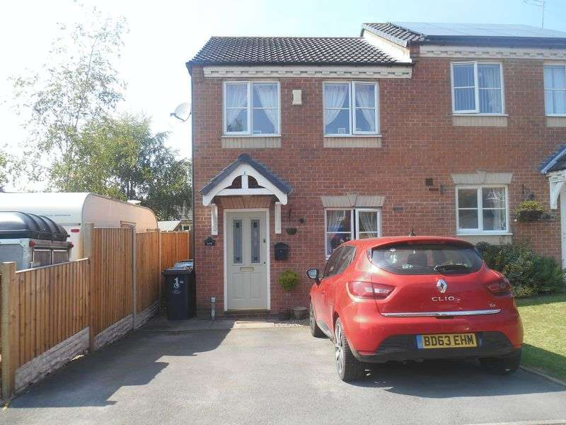 2 Bedrooms Semi Detached House for sale in Pillaton Drive, Huntington