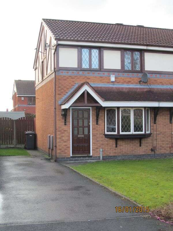 2 Bedrooms Semi Detached House for sale in DOVEDALE CLOSE, PR2 3WR