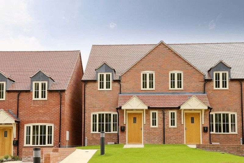 3 Bedrooms Terraced House for sale in Mendip View, Much Wenlock