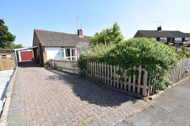 2 Bedrooms Semi Detached Bungalow for sale in Welbeck Avenue, Aylesbury