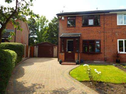 3 Bedrooms Semi Detached House for sale in Riverside Road, Radcliffe, Manchester, Greater Manchester, M26