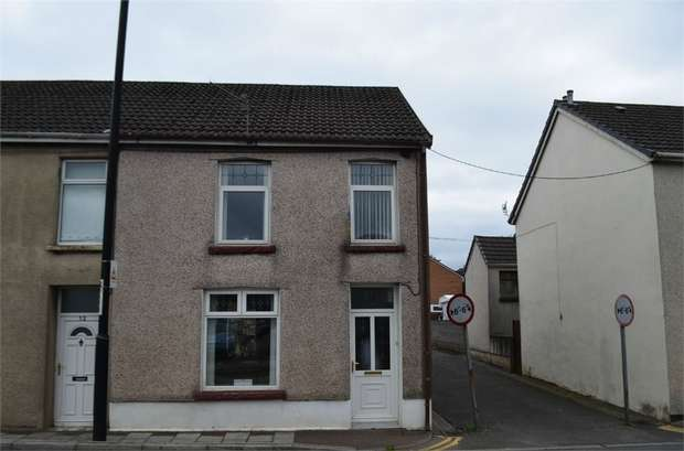 End Of Terrace House for sale in Dynevor Terrace, Nelson, Treharris, Caerphilly