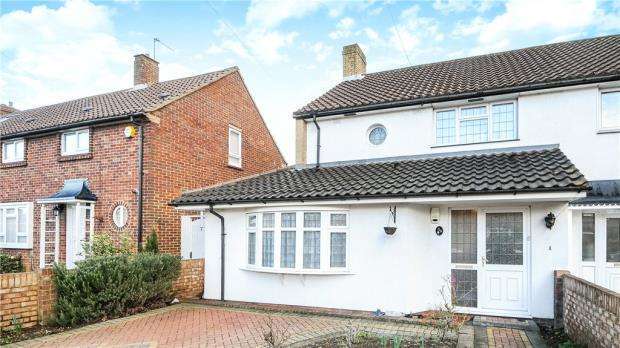 3 Bedrooms Semi Detached House for sale in Clare Road, Staines-upon-Thames, Surrey