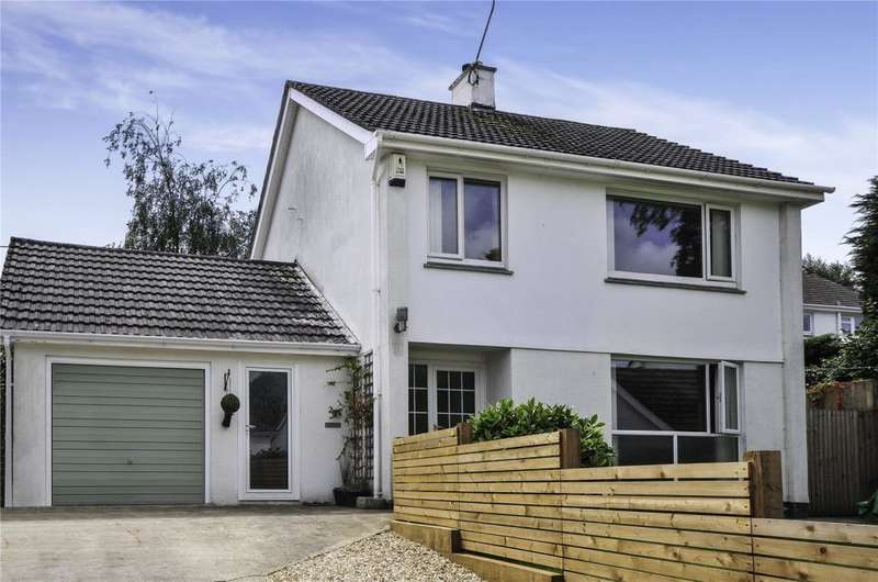 4 Bedrooms Detached House for sale in Bosvean Gardens, Truro