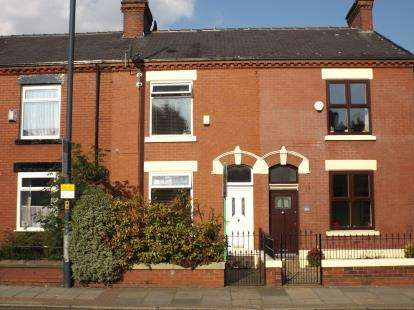2 Bedrooms Terraced House for sale in Stockport Road, Denton, Manchester, Greater Manchester