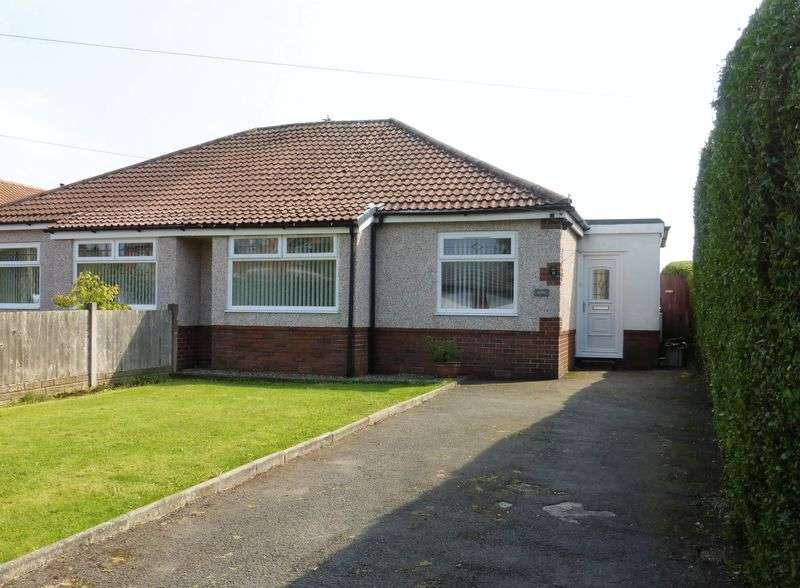 3 Bedrooms Semi Detached Bungalow for sale in Hall Lane, Longton, Preston