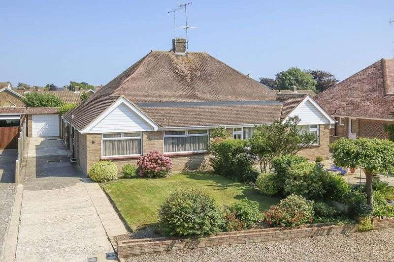 2 Bedrooms Semi Detached Bungalow for sale in East Preston